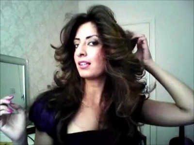 How to get BIG hair and flicks with Noreen Khan!