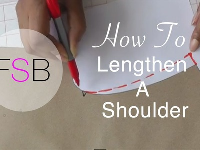How to Lengthen a Shoulder