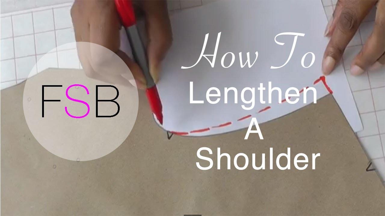 How to Lengthen a Shoulder