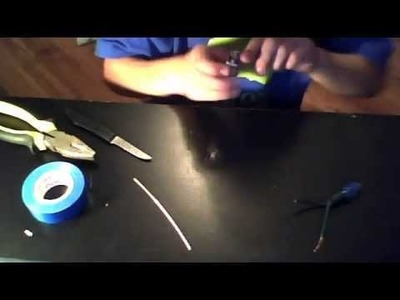 How to make a battery light