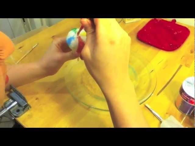 How To Make A Beach Ball Cake Pop