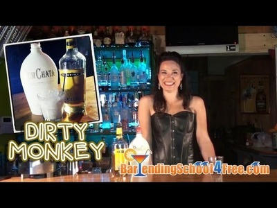 How to make a Dirty Monkey (Drink Recipes)