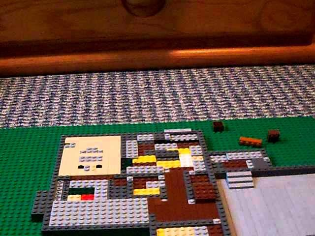 How to make a lego house:(part 2)