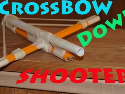 How to Make a Paper Crossbow Gun! - Rob's World