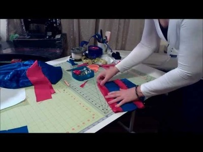 HOW TO MAKE A Snow White Dress Sleeve Sew and Cut pt2