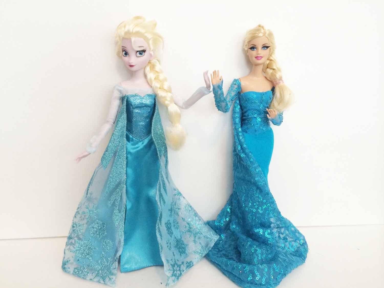 How To Make an Elsa Doll Dress Tutorial - Disney's Frozen