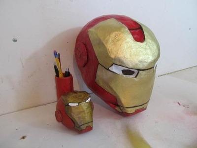 How to make the Iron Man Helmet