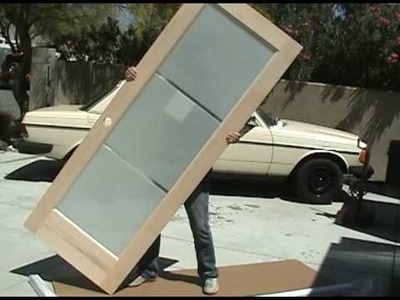 How to replace an interior door. M4L