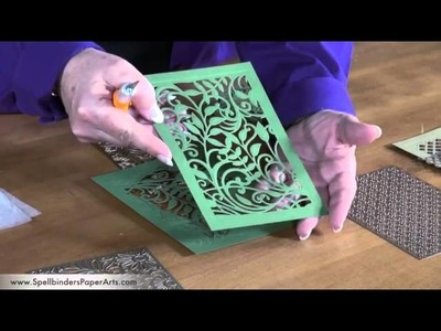 How to Use Spellbinders Shapeabilities Expandable Patterns