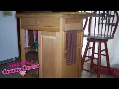 Kitchen Design Ideas  - Country Kitchen Island - Before and After