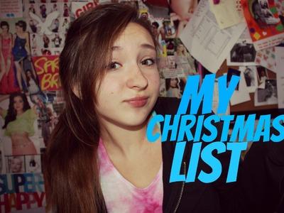 My Christmas List+teen girl gift ideas (HD)