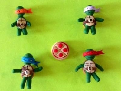Ninja Turtle Toys (polymer clay)