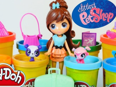 Play Doh Littlest Pet Shop Travel Trendy Blythe & Pets Toys Play Dough World Hasbro