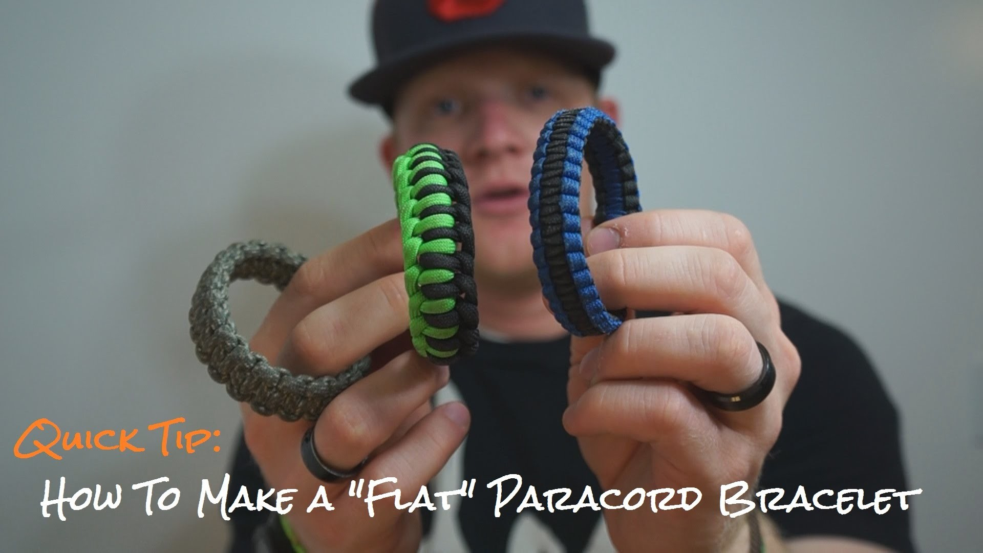 """Quick Tip: How To Make A """"Flat"""" Paracord Bracelet"""