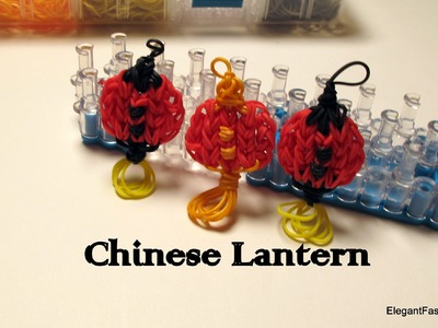 Rainbow Loom Chinese.Paper Lantern Charm - How to