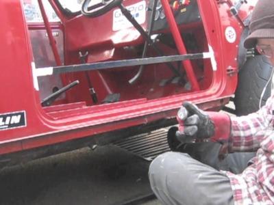 Replacing sills on the classic mini RX mini restoration part 1  - The strip down