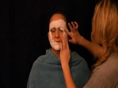 Simple Steps to Making a Plaster Gauze Mask