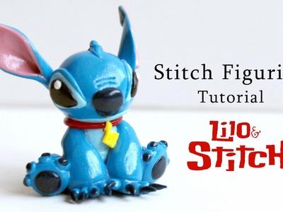 Stitch Polymer Clay Figurine Tutorial (Lilo and Stitch Film)