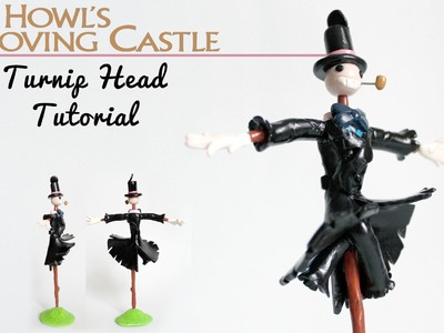 Turnip Head Polymer Clay Tutorial (Howl's Moving Castle)