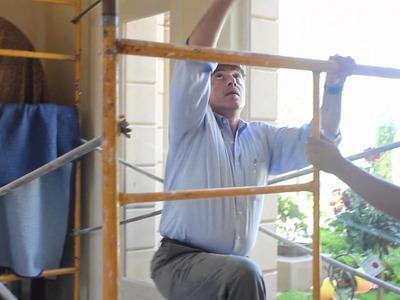 Video #6: High Ceiling Living Room Curtain Design | Custom Made Drapes | Drapery Los Angeles