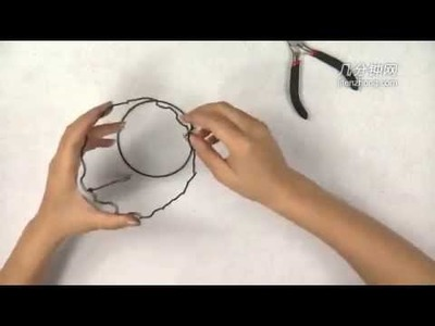 9527 How To Make a Basket in Aluminum Wire Manual