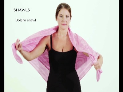 Anna Maria La Bianca Lifestyle Collections tutorial Lifestyle scarf.shawl.stole.dress.top