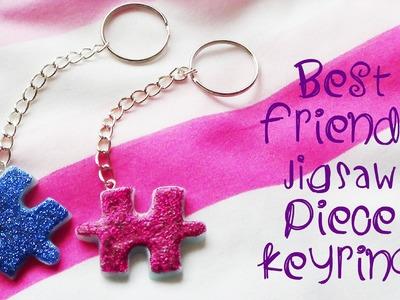 ❤ Best Friends Jigsaw Piece Keyring - Polymer Clay Tutorial! ❤