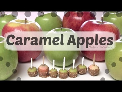 Caramel Apple Charm - How To - Polymer Clay Miniature