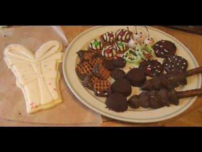 Christmas Chocolate Making