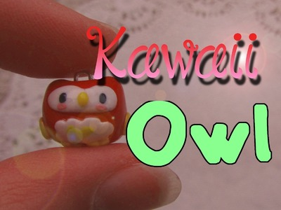 Cute Polymer Clay Owl Tutorial: Requested by CreativeCanvas3