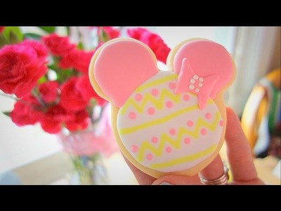Disney's Mickey Mouse Cookies: Decorate for Easter