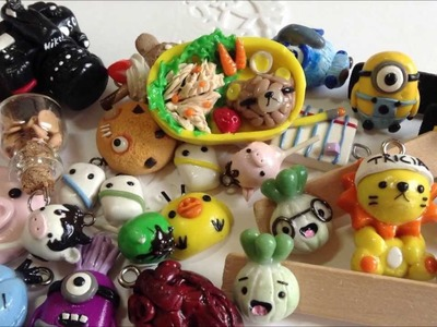 • ◡ • Polymer Clay Charms Update #2