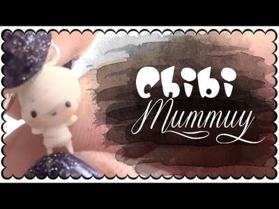 Halloween series - Chibi Mummy + TIP | Polymer Clay Tutorial