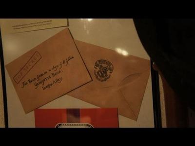 Harry Potter Gringotts Bank Letter for Sorcerer's Stone Prop project