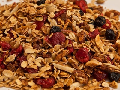 Homemade Granola Recipe - Laura Vitale - Laura in the Kitchen Episode 363