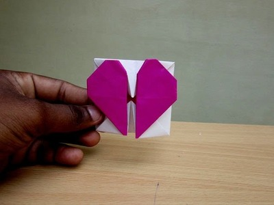 How to Make a Paper Heart Box (Valentine's Day Spl) - Easy Tutorials