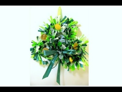How To Make A Shamrock Wreath - St. Patrick's Day Decoration