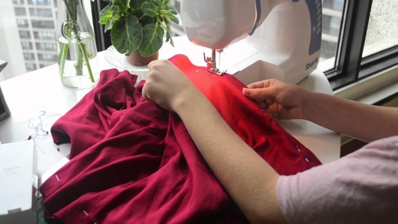 How to make a twist dress