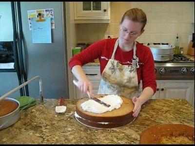 How To Make A Wedding Cake ~ Part 1.dv