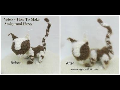 How To Make Amigurumi Fuzzy