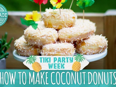 How to Make Coconut Donuts - Tiki Party Week Bonus Video - HGTV Handmade