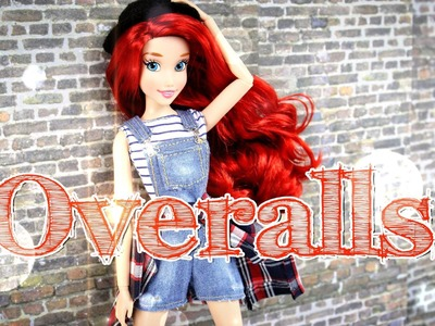 How to Make Doll Overalls - Doll Crafts