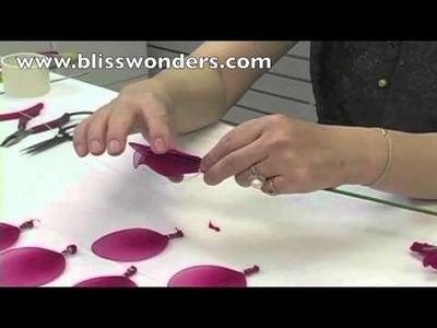 How To Make Nylon Flowers 02 (Large Rose) blisswonders.com
