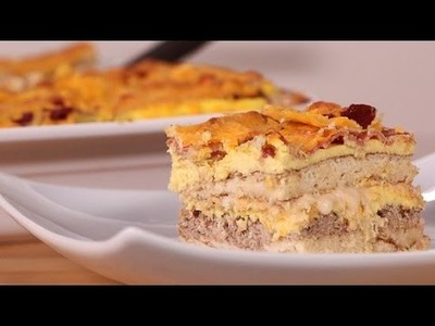 How to Make Pancake Lasagna For Breakfast