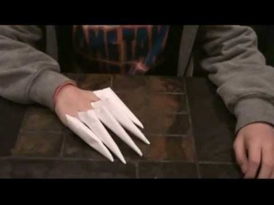 How to Make Paper Claws
