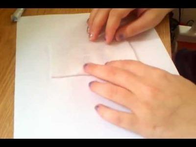 How to make plush pony eyes