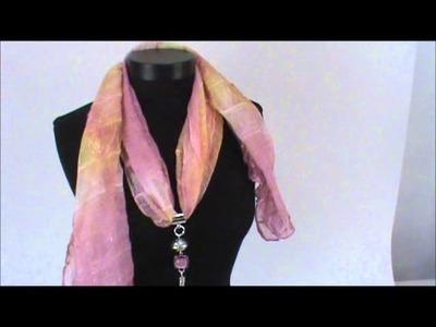 How to wear Scarf Jewelry
