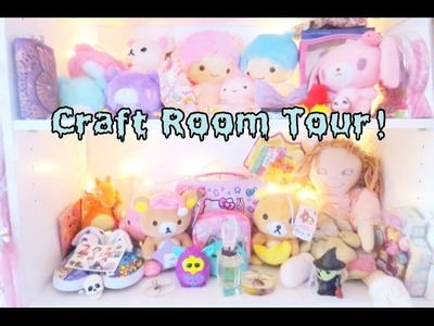 I'M BACK! Craft Room Tour!  (◕‿◕✿)