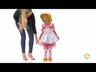 Lalaloopsy Spot Splatter Splash Deluxe Child Halloween Costume - Walmart