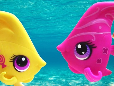 LPS Angel Fish Candy Swirl Dream Collection Blind Bag Opening